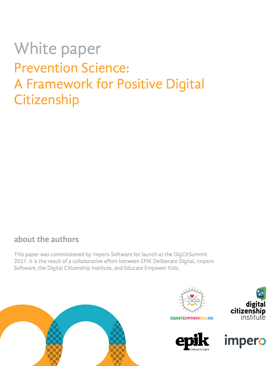 white paper prevention science